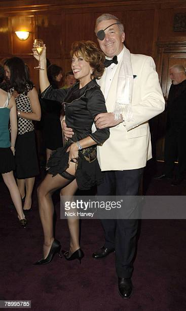 Kathy Lette and First Sea Lord Sir Alan West