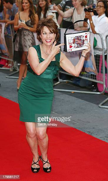 Kathy Lette attends the World Premiere of 'Diana' at Odeon Leicester Square on September 5 2013 in London England