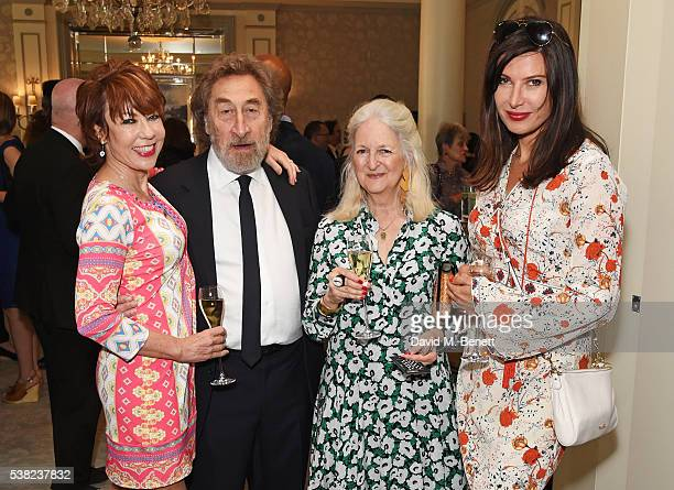 Kathy Lette Howard Jacobson Jenny De Yong and Ronni Ancona attend the The South Bank Sky Arts Awards airing on Wednesday 8th June on Sky Arts at The...