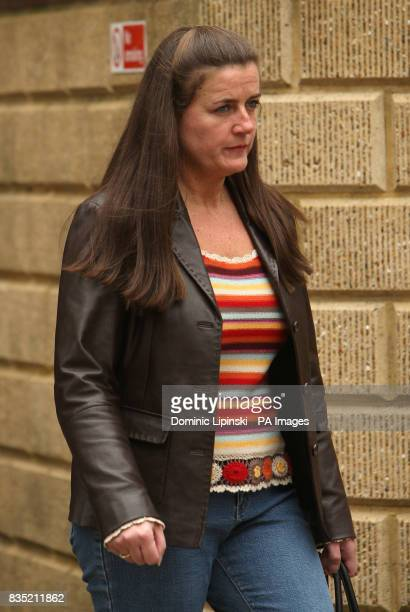 Kathy Martin the girlfriend of taxi driver John Worboys at the time of his arrest outside Croydon Crown Court where Worboys was found guilty on...