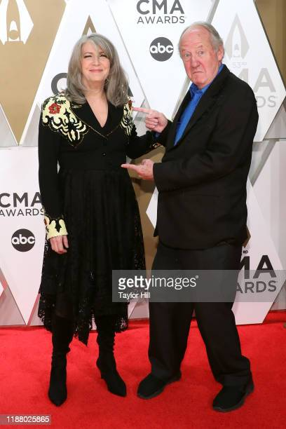 Kathy Mattea attends the 53nd annual CMA Awards at Bridgestone Arena on November 13 2019 in Nashville Tennessee