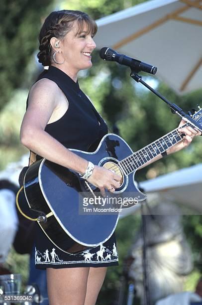 Kathy Mattea performs at Villa Montalvo on July 1 1995 in Saratoga California