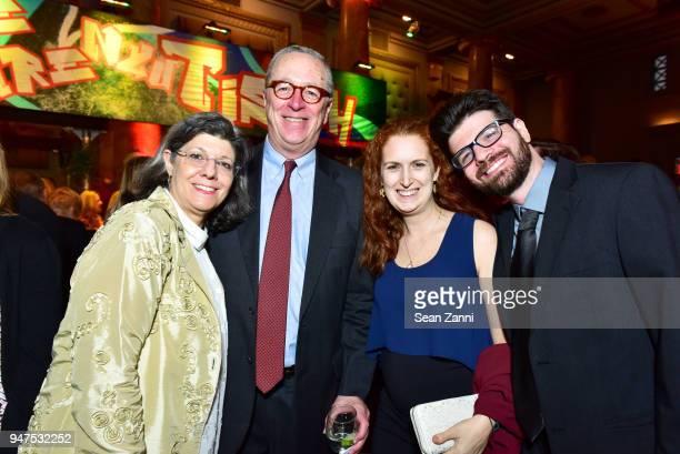 Kathy McDermott Robert Cameron Laura Zarn and Sam Zarn attend NYU Tisch School of the Arts GALA 2018 at Capitale on April 16 2018 in New York City