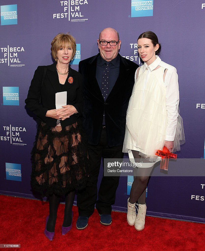 Kathy McGuinness, Paul McGuiness and Director Alexandra McGuinness attend the premiere of 'Lotus Eaters' during the 2011 Tribeca Film Festival at SVA Theater on April 21, 2011 in New York City.