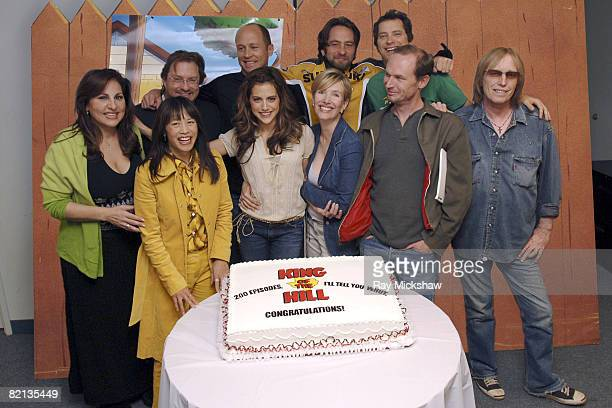 Kathy Najimy as Peggy Hill Stephen Root as Bill creator and exec producer Mike Judge as Hank Hill guest voice David Herman Johnny Hardwick as Dale...