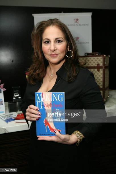 Kathy Najimy at Backstage Creations Celebrity Retreat at Haven360 at Andaz Hotel on March 5 2010 in West Hollywood California