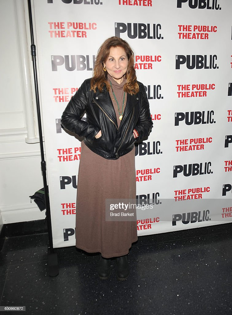 Kathy Najimy attends the 13th Annual Under the Radar Festival 2017 Opening Night at The Public Theater on January 4, 2017 in New York City.