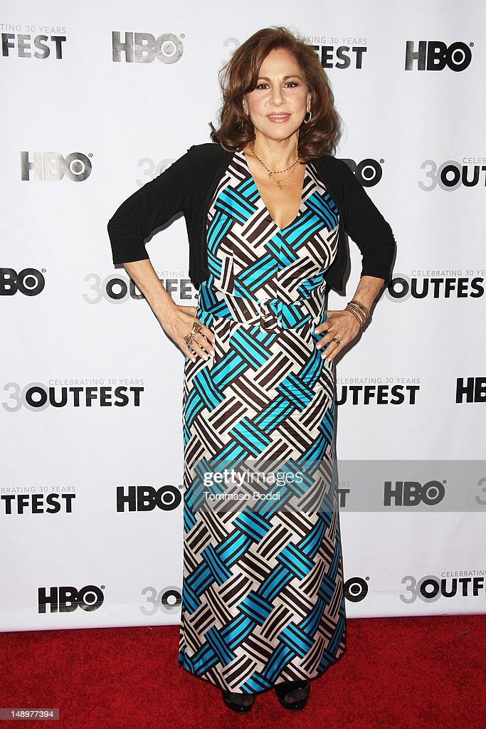 Kathy Najimy Attends The 2012 Outfest Bearcity 2 The