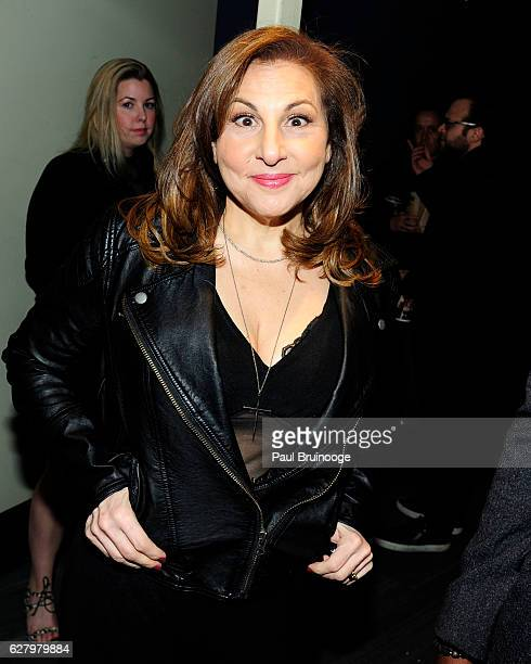 "Kathy Najimy attends the Paramount Pictures with Paramount Pictures with The Cinema Society & Svedka Host a Screening of ""Office Christmas Party"" at..."