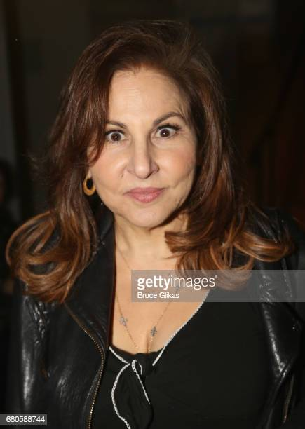 Kathy Najimy poses at An American Daughter Benefit Reading at The Tony Kiser Second Stage Theatre on May 8 2017 in New York City