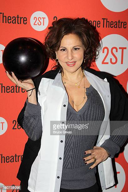 Kathy Najimy poses at Second Stage Theatre's 26th Annual AllStar Bowling Classic at Lucky Strike on February 4 2013 in New York City