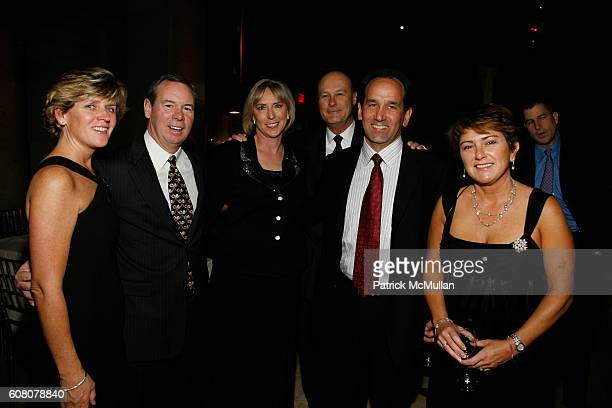 Kathy O'Donnell Jeff O'Donnell Linda Henson Mike Henson Jeff Valko and Maritza Valko attend An Evening to Benefit the Cardiovascular Research...