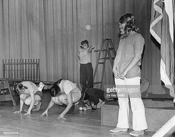 OCT 15 1970 OCT 29 1970 DEC 2 1970 Kathy Pasqua center background selfconscious about braces on her teeth ridicules Stephanie Hardy right about her...