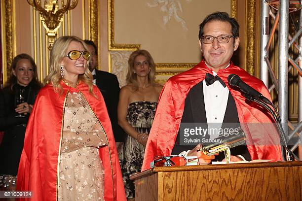Kathy Prounis and Othon Prounis attend Lenox Hill Neighborhood House Associates Committee Fall Benefit Celebrate the Neighborhood Dinner and Dancing...