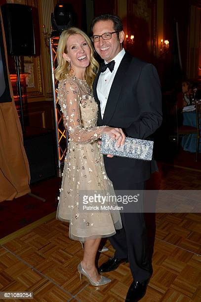 Kathy Prounis and Othon Prounis attend the Lenox Hill Neighborhood House Associates Committee Fall Benefit Celebrate the Neighborhood Dinner and...
