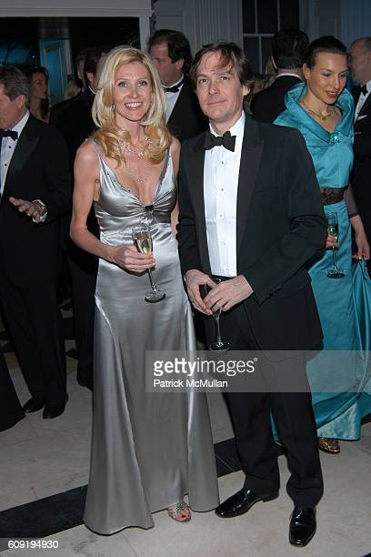 Kathy Prounis and Stephen Apking attend Museum of the City of New York Director's Council Winter Ball at Museum of the City of New York on February...