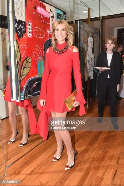 Kathy Prounis attends the Ati Sedgwick Private Preview at The VFGI Townhouse Gallery on March 6 2018 in New York City