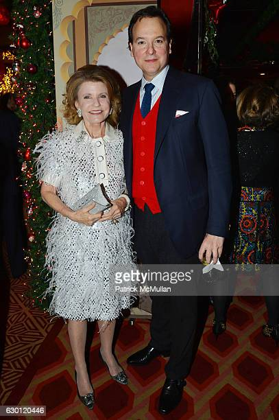 Kathy Rayner and George Farias attend George Farias Anne and Jay McInerney Host A Christmas Cheer Holiday Party 2016 at The Doubles Club on December...