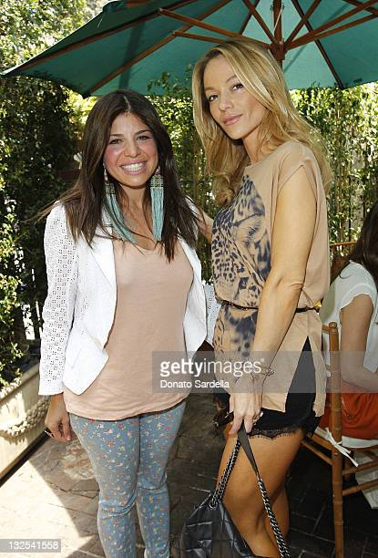 Kathy Rose and Barbara Costantine attend Jo De Mer Lunch Hosted By Alexandra von Furstenberg at Il Cielo on June 30 2011 in Beverly Hills California