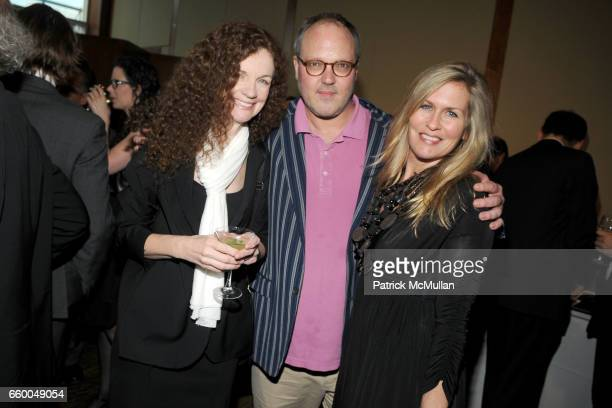Kathy Ryan Todd Eberle and Kim Vernon attend INTERNATIONAL CENTER OF PHOTOGRAPHY's 25th Annual INFINITY AWARDS at Pier 60 on May 12 2009 in New York