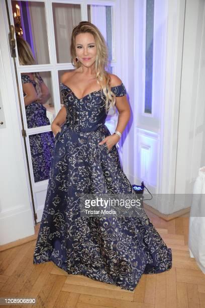 Kathy Savannah Krause during the 23 Blauer Ball at Hotel Atlantic Kempinski on February 22 2020 in Hamburg Germany
