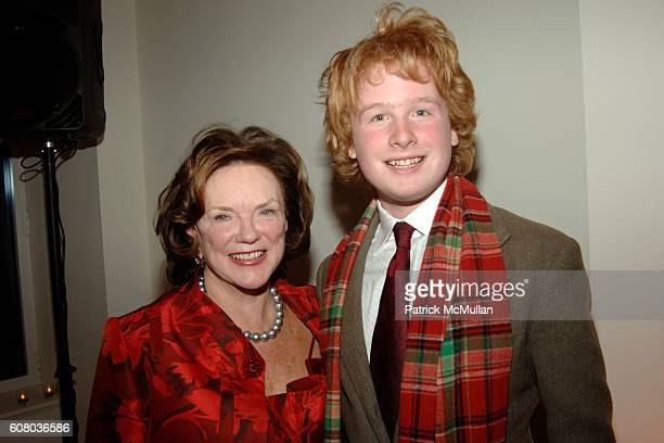 Kathy Sloane and James Garfunkel attend DONALD TRUMP and AVENUE Magazine host a Holiday Party to Celebrate their December issue with Cohosts Kathy...