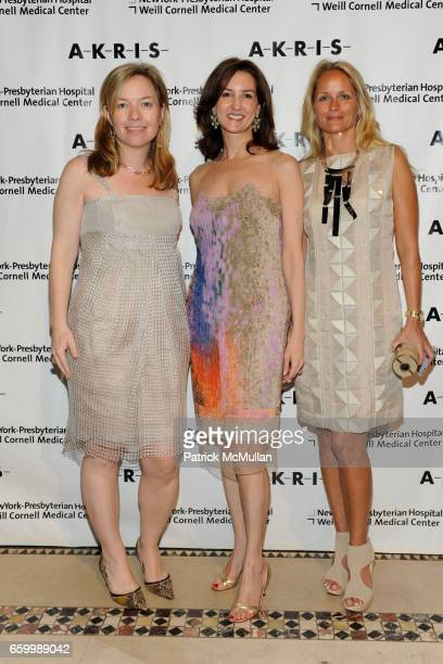 Kathy Thomas Alexia Hamm Ryan and Heather Mnuchin attend FASHION SHOW and LUNCHEON for AKRIS at Cipriani 42nd Street on May 14 2009 in New York City