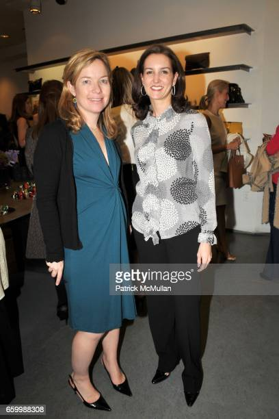 Kathy Thomas and Alexia Hamm Ryan attend TRE Launch Party at Scoop Uptown on May 14 2009 in New York City