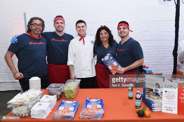 Kathy Wakile and her team attend the Food Network Cooking Channel New York City Wine Food Festival Presented By CocaCola Alfa Romeo presents Italian...