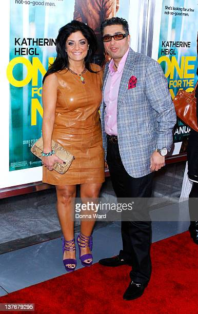 Kathy Wakile and Rich Wakile attend the One for the Money premiere at the AMC Loews Lincoln Square on January 24 2012 in New York City