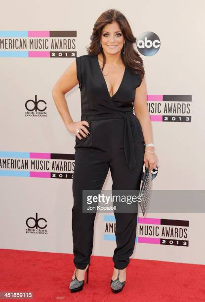 Kathy Wakile arrives at the 2013 American Music Awards at Nokia Theatre LA Live on November 24 2013 in Los Angeles California