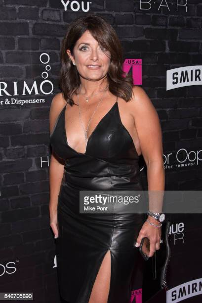 Kathy Wakile attends OK Magazine's Fall Fashion Week 2017 Event at Hudson Hotel on September 13 2017 in New York City