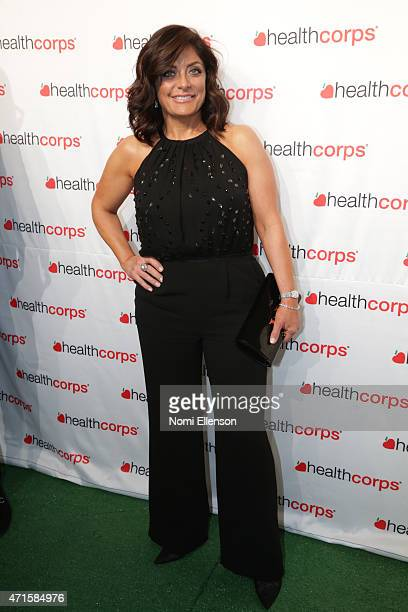 Kathy Wakile attends the 9th Annual HealthCorps' Gala at Cipriani Wall Street on April 29 2015 in New York City