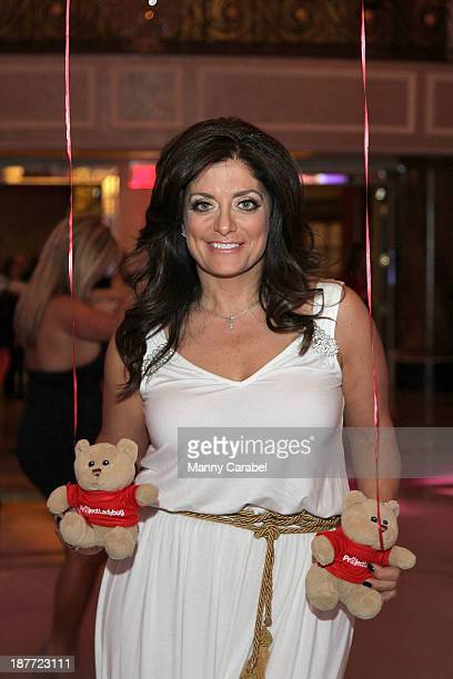 Kathy Wakile attends the 'Goddess Night Out' event benefiting Project Lady Bug hosted by Dina Manzo on November 11 2013 in Garfield New Jersey