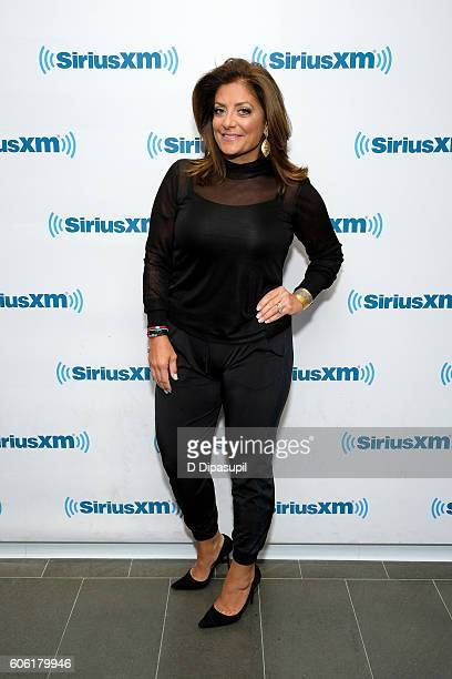 Kathy Wakile poses at SiriusXM Studio on September 16 2016 in New York City