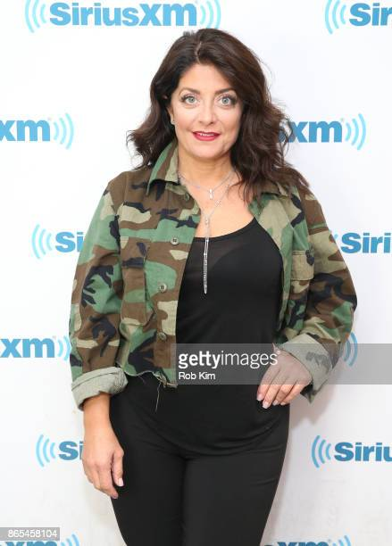 Kathy Wakile visits at SiriusXM Studios on October 23 2017 in New York City