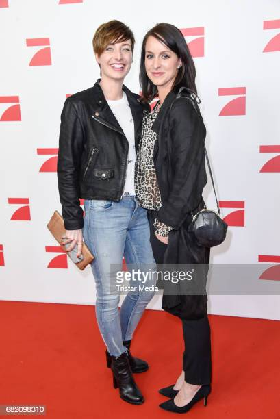 Kathy Weber and Alexandra Kroeber attend the premiere of the television show 'This Is Us Das ist Leben' at Zoo Palast on May 11 2017 in Berlin Germany