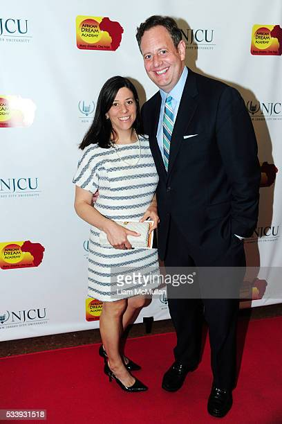 Kathy Weber and Michael Weber attend African Dream Academy Foundation Benefit 2016 at 62 East 92nd St on May 23 2016 in New York City