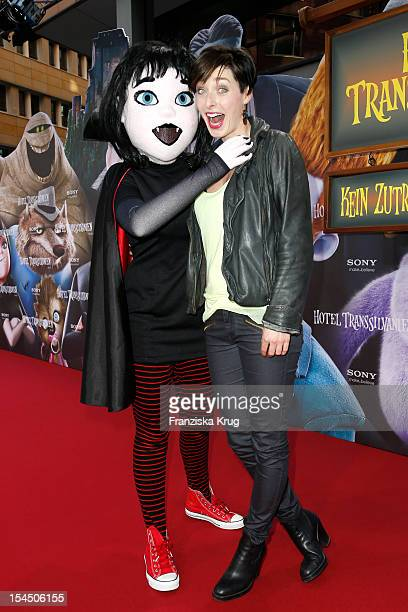 Kathy Weber attends the Germany premiere of 'Hotel Transylvania' at Cinemaxx at Potsdamer Platz on October 21 2012 in Berlin Germany