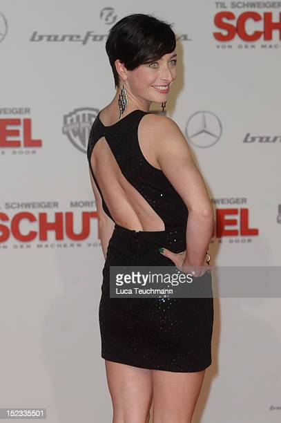 Kathy Weber attends the premiere of 'Schutzengel' at Sony Center on September 18 2012 in Berlin Germany