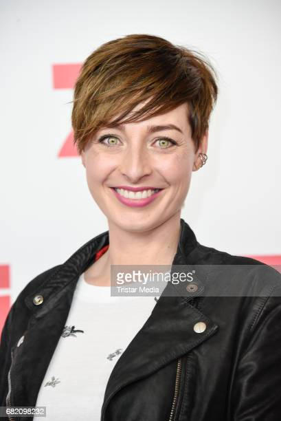Kathy Weber attends the premiere of the television show 'This Is Us Das ist Leben' at Zoo Palast on May 11 2017 in Berlin Germany