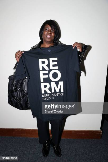 Kathy Williams attends Reform Bringing Injustice To Light at Irvine Auditorium on March 13 2018 in Philadelphia Pennsylvania