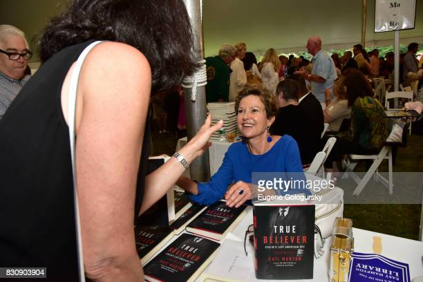 Kati Marton attends Authors Night 2017 At The East Hampton Library at The East Hampton Library on August 12 2017 in East Hampton New York