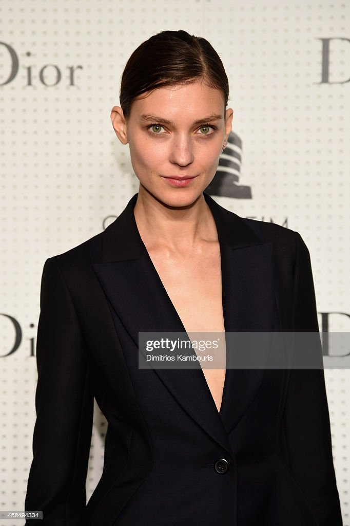 Kati Nescher attends the Guggenheim International Gala Pre-Party made possible by Dior on November 5, 2014 in New York City.
