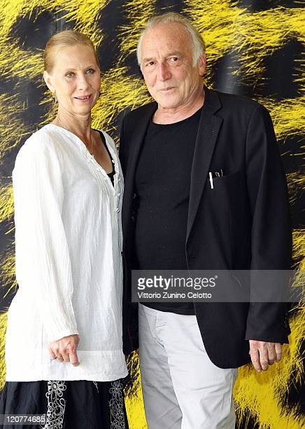 Kati Outinen and Andre Wilms attend 'Le Havre' during the 64th Festival del Film di Locarno in Locarno Switzerland