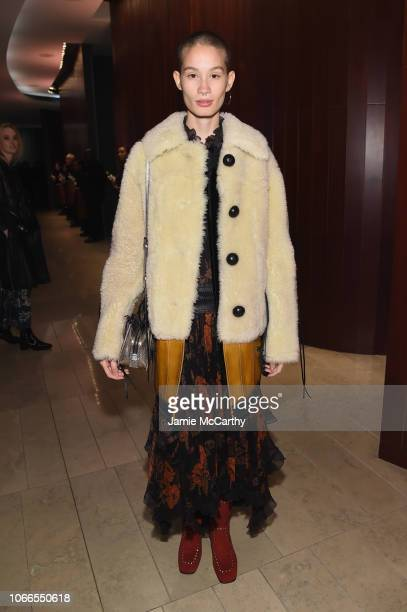 Katia Andre attends the Lincoln Center Fashion Gala An Evening Honoring Coach at Lincoln Center Theater on November 29 2018 in New York City