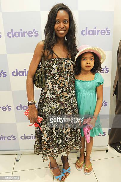 Katia Barillot attends Claire's New Shop Inauguration on May 30 2012 in Paris France