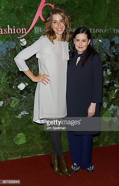 Katia Beauchamp and Emily Dougherty attend the 19th Annual Fashion Group International Rising Star Awards at Cipriani 42nd Street on January 28, 2016...
