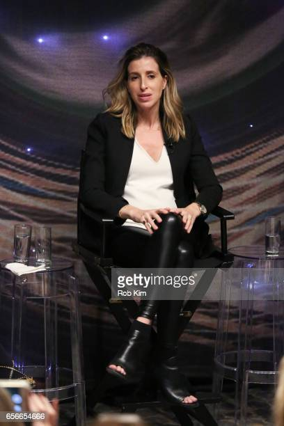 Katia Beauchamp attends the Female Bosses celebration and BOSS BITCH book launch and interactive panel event at The Core Club on March 22, 2017 in...
