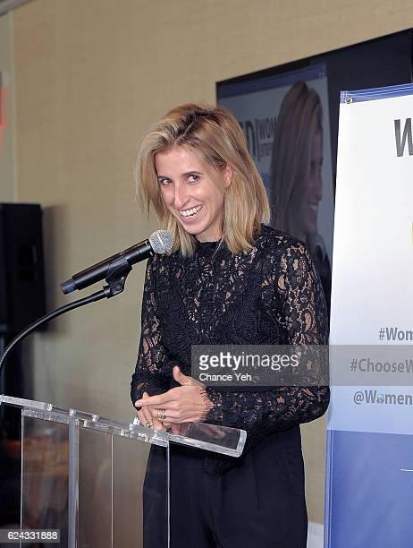 Katia Beauchamp attends Women's Entrepreneurship Day 2016 at United Nations on November 18, 2016 in New York City.